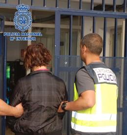 La mujer detenida en Carboneras acusada de encubrir el crimen de su suegra