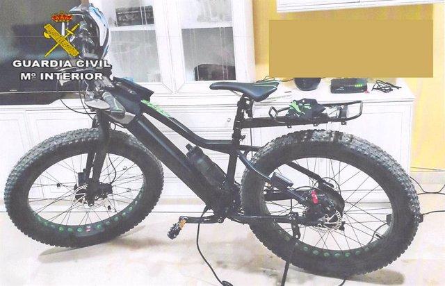 Bicicleta sustraída en Castilblanco de los Arroyos.