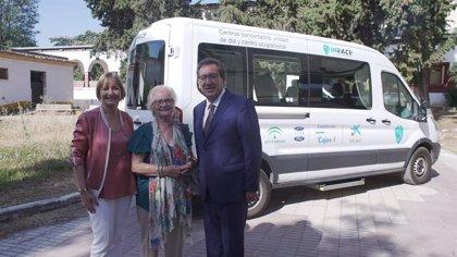 Fundación Cajasol y La Caixa mejoran la movilidad de personas con daños cerebral que acuden al centro Indace de Sevilla