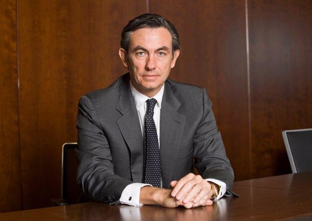 Imagen de recurso del nuevo presidente de Distrito Castellana Norte, Álvaro Aresti.