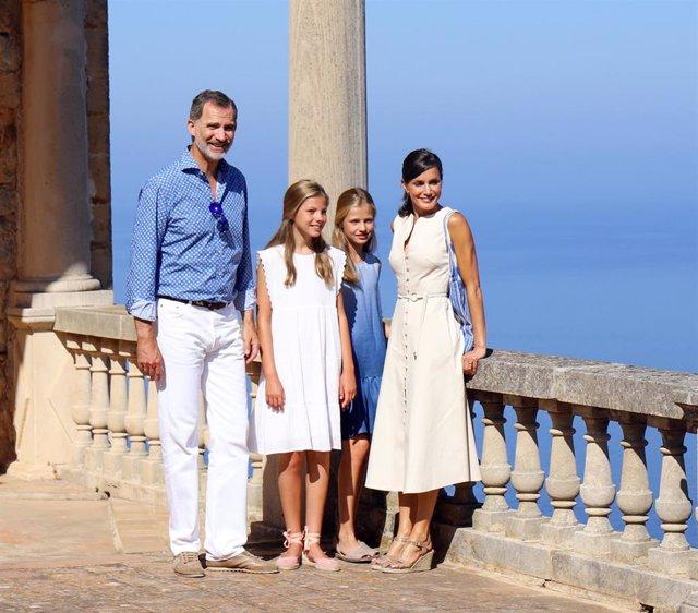 La Familia Real visita la Casa Museo Son Marroig