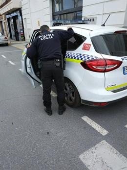 Agente de la Policía Local en una imagen de archivo