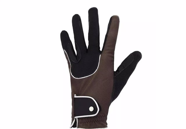 Guantes Pro'Leather Marrón de Decathlon