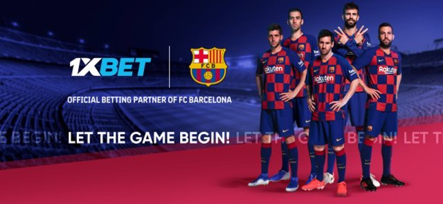 FC Barcelona y 1XBET