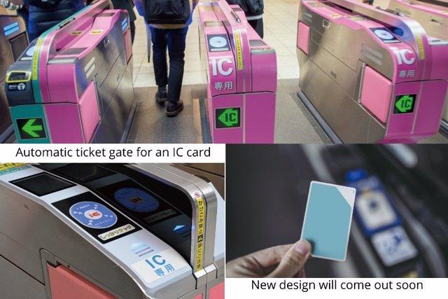 Tarjeta de transporte público para viajeros en Tokio