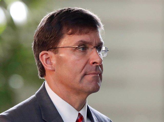 El secretario de Defensa de Estados Unidos, Mark Esper