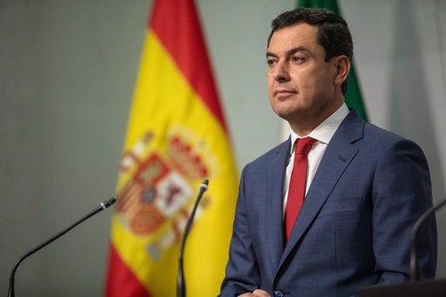 El presidente de la Junta de Andalucía, Juanma Moreno, en una imagen de archivo