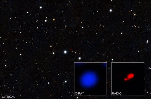 Asopecto del cuásar indicio de la presencia de un agujero negro oscurecido