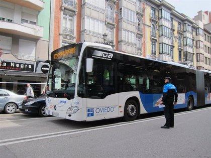 El transporte urbano en autobús crece en Asturias un 3,1% en junio