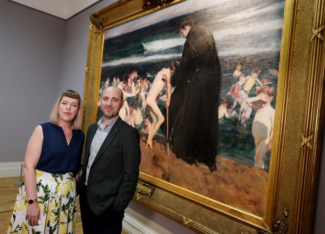 Exposición de Sorolla en Irlanda