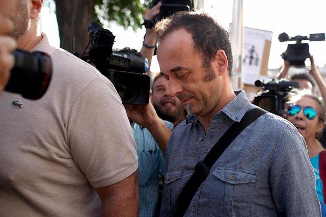 Francesco Arcuri, el excompañero de Juana Rivas, en una imagen de archivo