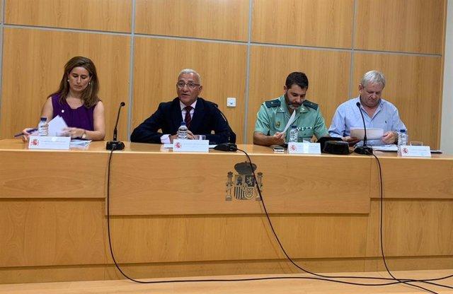 Presentación de la campaña de la DGT en Badajoz
