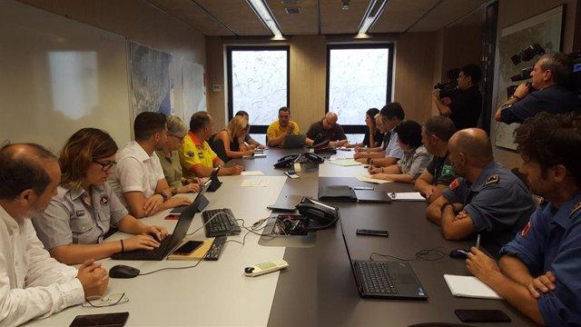 Reunión del Comité Técnico este viernes ante nuevo episodio de riesgo de incendios