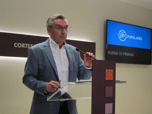 El presidente del PP-Aragón, Luis María Beamonte