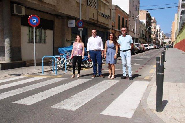 El barrio de Santa Catalina es la segunda 'zona 30' de Palma.