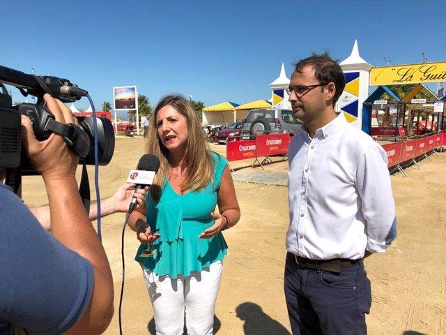 Irene García, hoy ante los medios