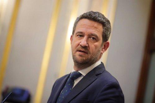 Jaime de Olano, en el Congreso