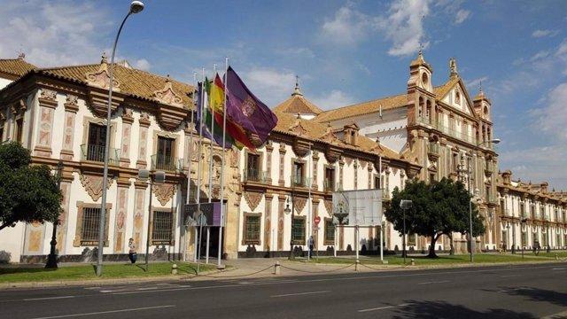 El Palacio de la Merced, sede de la Diputación de Córdoba, en una imagen de archivo