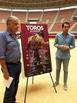Oscar 'Chopera' y Manuel Martínez presentan la feria de toros de San Mateo en Logroño