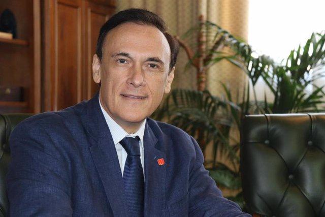 El presidente de la Conferencia de Rectores de Universidades Españolas (CRUE), José Carlos Gómez Villamandos.