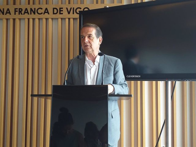 El alcalde de Vigo y presidente de Zona Franca de la ciudad, Abel Caballero.