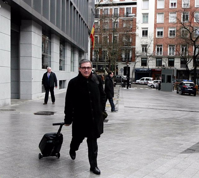 Jordi Pujol Ferrusola arriba a l'Audiència Nacional