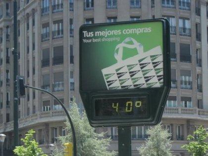 La ciudad de València alcanza los 40 grados y Xàtiva supera los 41