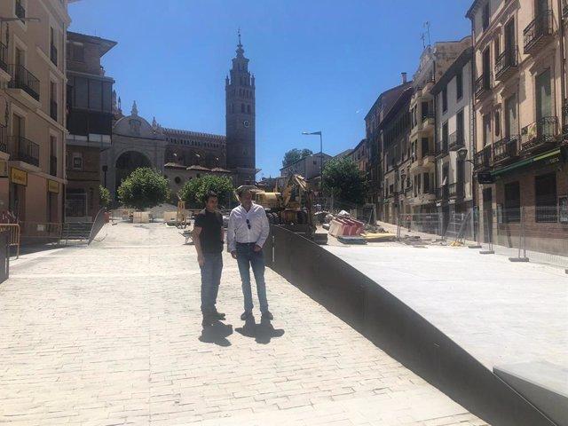 Plaza de la Seo de Tarazona
