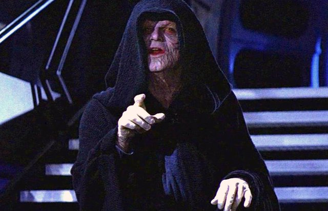 Darth Sidious en Star Wars