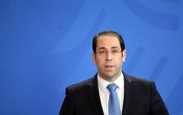 Primer ministro de Túnez Yusuf Chahed
