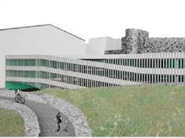 Proyecto del aparcamiento en Eulogio González en Plasencia