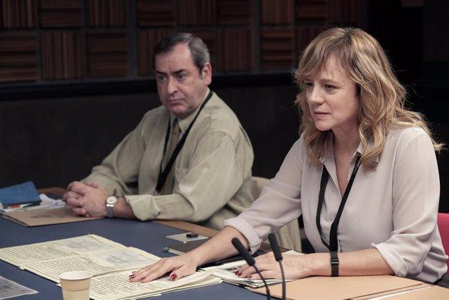 Fotgrama de la serie Criminal