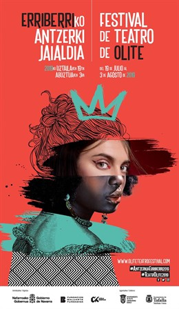 Cartel del Festival de Teatro de Olite 2019