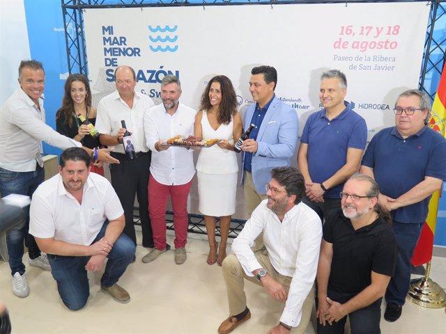 Nota/ La Feria Gastronómica 'Mimarmenor De Salazón' Vuelve Este Agosto Con 10 Cocineros Top Y Swing