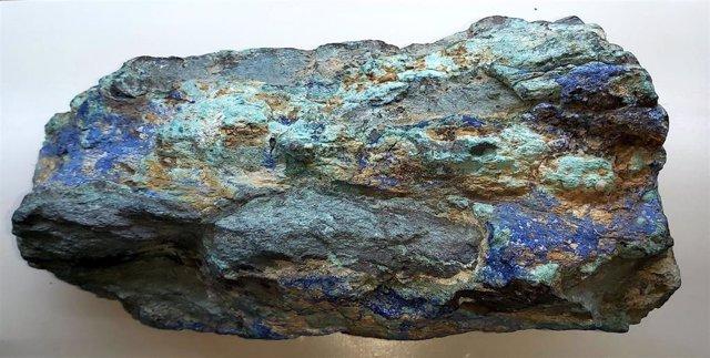 Pieza donada al Museo Minero de Riotinto.