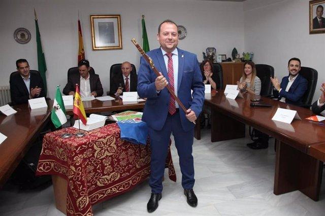 El alcalde de Cúllar Vega, Jorge Sánchez, en imagen de archivo