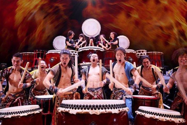 Np: El Grup De Percussió Yamato Porta 'Jhonetsu Passion' A Sagunt A Escena