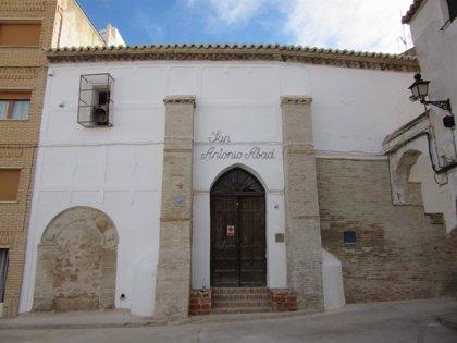 Comienza la segunda fase de la rehabilitación de la Iglesia de San Antonio Abad de Híjar