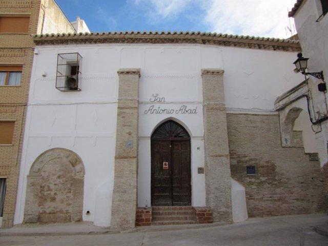 Reabilitación de la Iglesia de San Antonio Abad de Híjar.