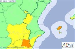 Avisos por altas temperaturas activados este sábado, 10 de agosto, en la Comunitat Valenciana