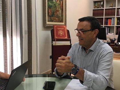 """Caraballo insiste en que el PSOE es el único partido que permitirá a la provincia de Huelva """"seguir avanzando"""""""