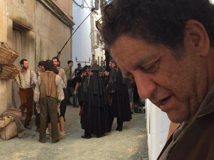 Proyectan este domingo el corto 'La Higuera' en la plaza de Garrovillas de Alconétar, uno de los escenarios del rodaje