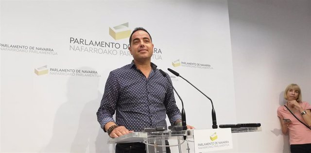 Ramón Alzórriz, secretario de Organización del PSN