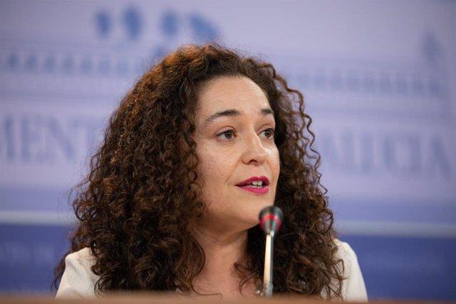 Rueda de prensa de la portavoz del Grupo Parlamentario de Adelante Andalucía, Inmaculada Nieto.