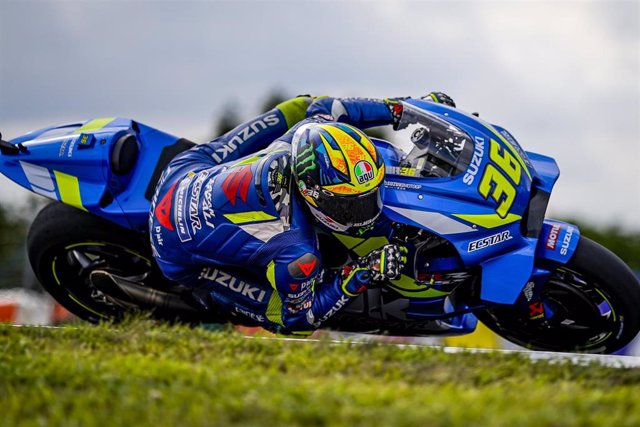 36 MIR Joan (Spa) Team Suzuki Ecstar, Suzuki, action during MotoGP race of the Monster Energy Grand Prix Czech Republic at Brno, from August 2nd to 4th, 2019 in Czech Republic - Photo Studio Milagro / DPPI