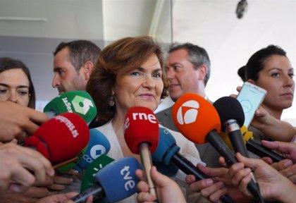 """Calvo pide """"responsabilidad y madurez"""" a políticos para formar gobierno: """"Deben dar un recital de compromiso y madurez"""""""