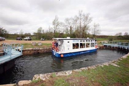 Cinco barcos fluviales que recorren diferentes espacios de CyL serán eléctricos en 2020