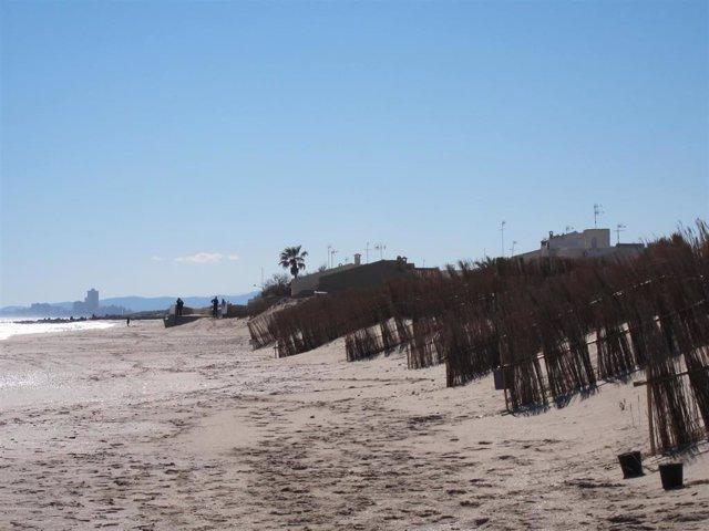Playa de La Garrofera, El Saler