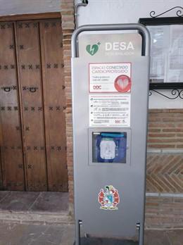 Desfibrilador en el municipio malagueño de Jimera de Líbar