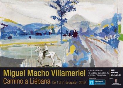 La muestra 'Camino a Liébana' de Miguel Macho recorrerá la provincia palentina hasta el 28 de septiembre